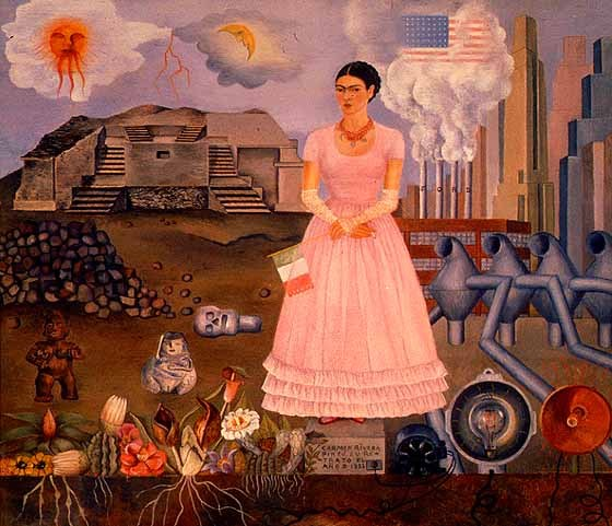 Frida kahlo o mito multifacetado por simone curi - Baneras de obra ...
