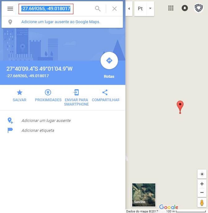 Veja como obter as coordenadas geográficas através do novo Google Maps - Portal do Rancho